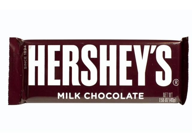hersheys candy bar wrapped